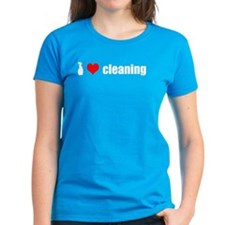 I Love Cleaning Tee
