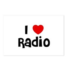 I * Radio Postcards (Package of 8)
