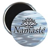 Namaste Lotus Ripple 2.25&amp;quot; Magnet (10 pack)