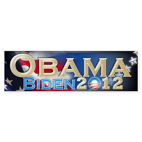 Obama Biden - Sticker (Bumper)