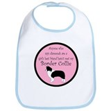 Girl's Best Friend - Border C Bib