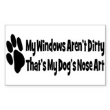 Nose Art Bumper Stickers