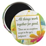 "ACIM-All Things Work Together 2.25"" Magnet (1"