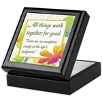 ACIM-All Things Work Together Keepsake Box
