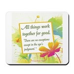 ACIM-All Things Work Together Mousepad