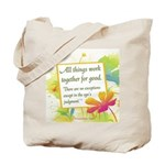 ACIM-All Things Work Together Tote Bag