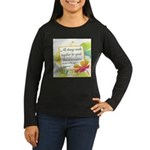 ACIM-All Things Work Together Women's Long Sleeve