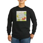 ACIM-All Things Work Together Long Sleeve Dark T-S