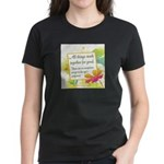 ACIM-All Things Work Together Women's Dark T-Shirt