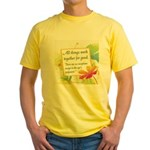 ACIM-All Things Work Together Yellow T-Shirt