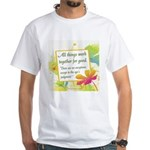 ACIM-All Things Work Together White T-Shirt