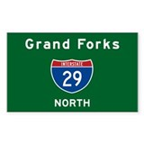 Grand Forks 29 Decal