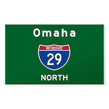 Omaha 29 Decal