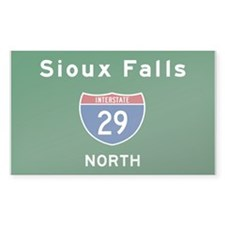 Sioux Falls 29 Decal