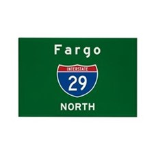 Fargo 29 Rectangle Magnet
