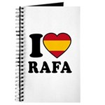 I Love Rafa Nadal Journal