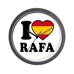 I Love Rafa Nadal Wall Clock