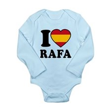 I Love Rafa Nadal Long Sleeve Infant Bodysuit