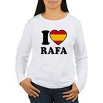 I Love Rafa Nadal Women's Long Sleeve T-Shirt