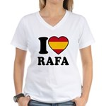 I Love Rafa Nadal Women's V-Neck T-Shirt