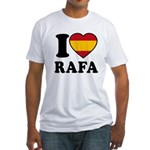 I Love Rafa Nadal Fitted T-Shirt