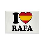 I Love Rafa Nadal Rectangle Magnet (100 pack)