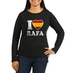 I Love Rafa Nadal Women's Long Sleeve Dark T-Shirt