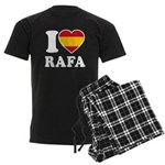 I Love Rafa Nadal Men's Dark Pajamas