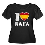 I Love Rafa Nadal Women's Plus Size Scoop Neck Dar