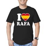 I Love Rafa Nadal Men's Fitted T-Shirt (dark)