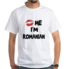 Kiss Me I'm Romanian Shirt