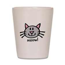 Lil Grey Cat Shot Glass
