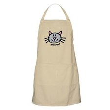 Lil Grey Cat Apron