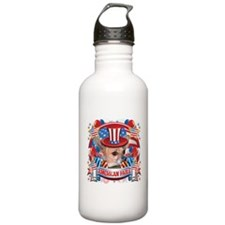 American Pride Chihuahua Water Bottle