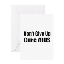 Unique Cure aids Greeting Card