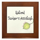 Teacher's Assistant Framed Tile