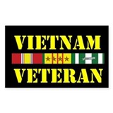 Vietnam Veteran 4 Star Decal