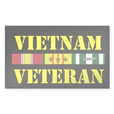 Vietnam Veteran 3 Star Decal