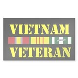 Vietnam Veteran Stickers