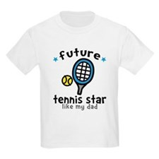 Tennis Star - Dad T-Shirt