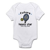 Tennis Star - Dad Onesie