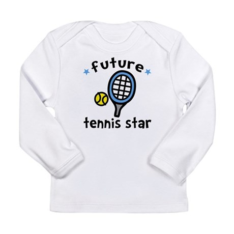 Future Tennis Star Long Sleeve Infant T-Shirt