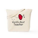 Ladybug Teacher Tote Bag