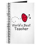 Ladybug Teacher Journal