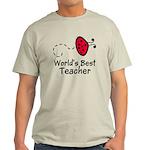 Ladybug Teacher Light T-Shirt