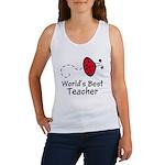 Ladybug Teacher Women's Tank Top