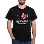 Ladybug Teacher Dark T-Shirt