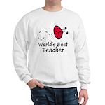Ladybug Teacher Sweatshirt
