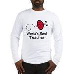 Ladybug Teacher Long Sleeve T-Shirt