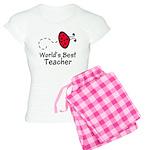 Ladybug Teacher Women's Light Pajamas